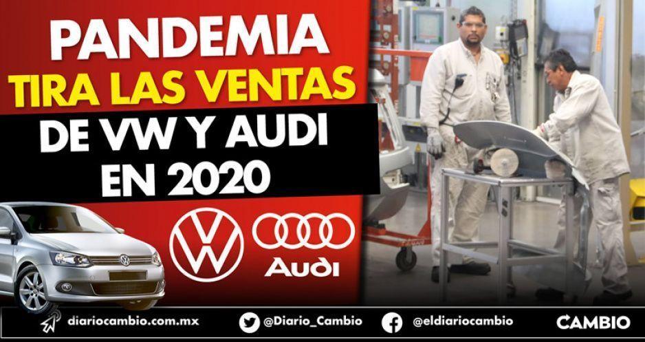 Pandemia tira las ventas de Volkswagen y Audi en primer bimestre del 2020