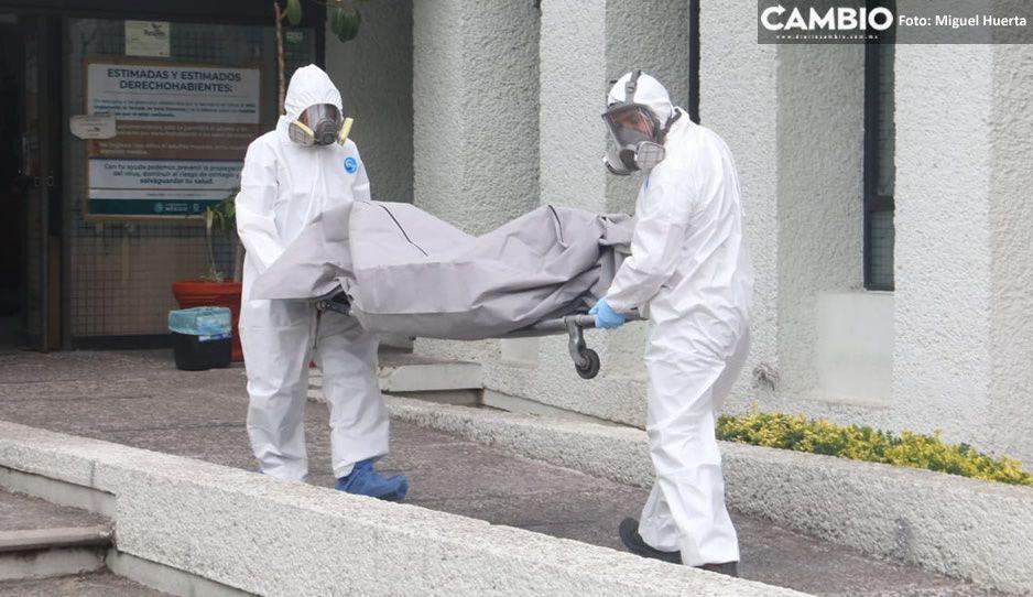 Trasladan al Semefo cuerpo abandonado en el IMSS de San Bartolo que provocó pánico (FOTOS)