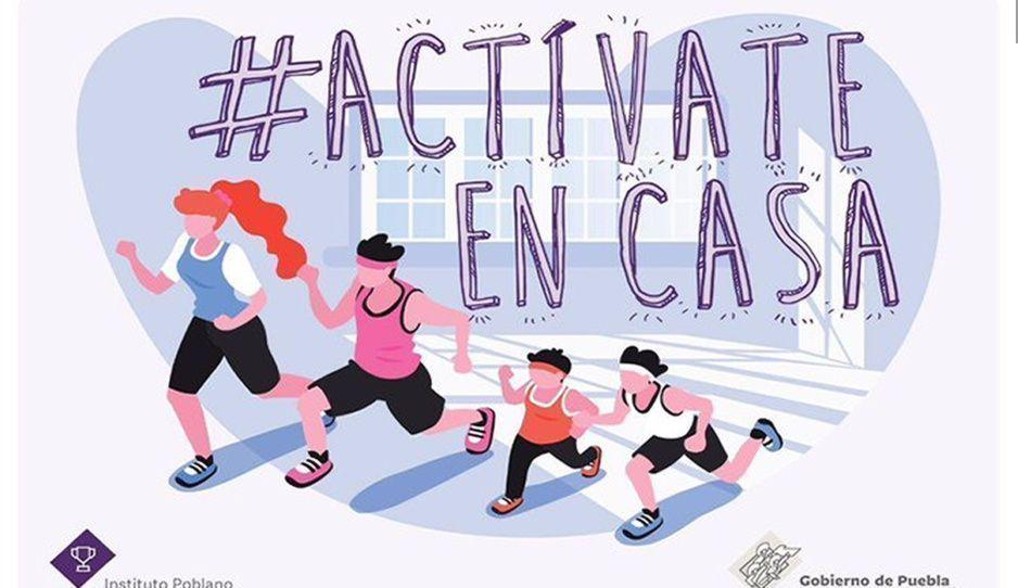 """Ante la cuarentena por Covid-19, lanzan campaña """"Actívate en Casa"""""""