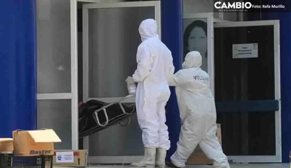 Baja  letalidad de COVID a 18.7 tras dispararse contagios en Puebla