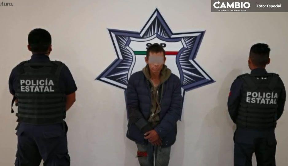 Capturan a El Lucifer, líder narcomenudista de Puebla (VIDEO)