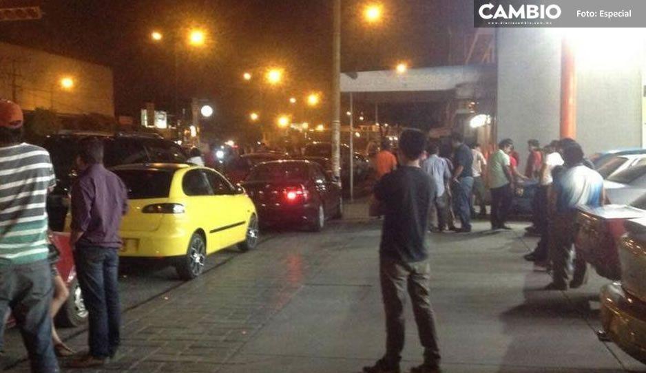 Los Toretto de Tehuacán organizan arrancones en plena contingencia