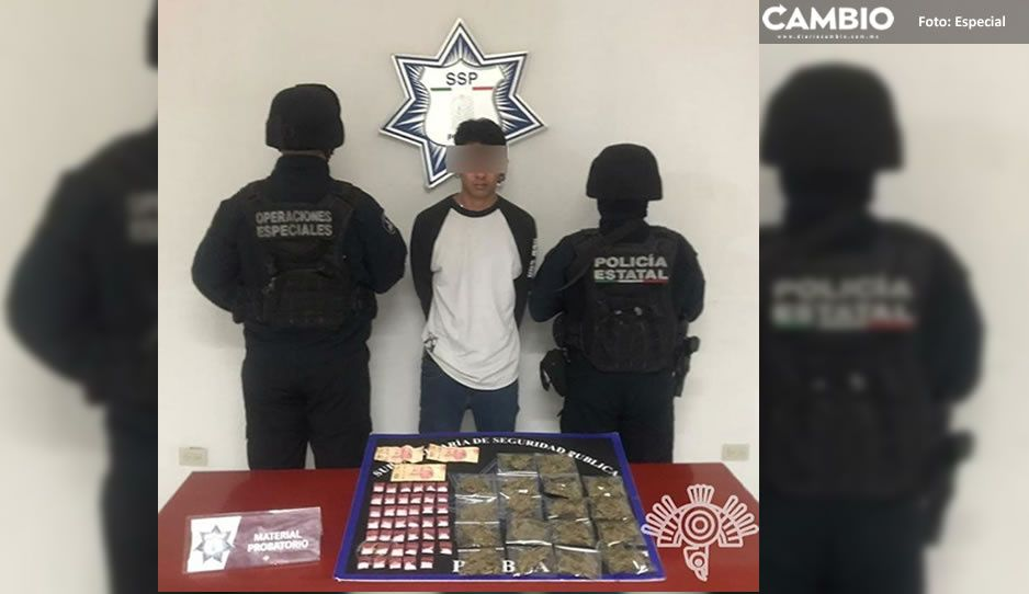 Cae presunto narcomenudista El Kalifitas en colonia Tres Cruces