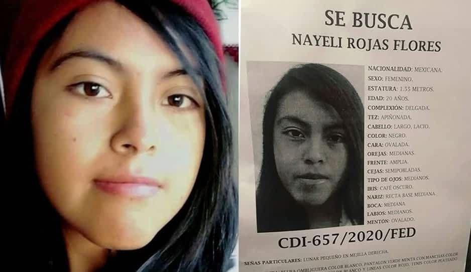 Desaparece Nayeli Rojas Flores ¡ayúdala a volver a casa!