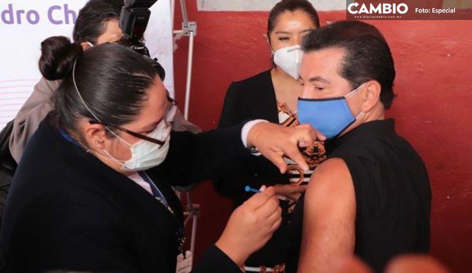 Inicia en San Pedro Cholula Jornada de Vacunación, más de mil dosis se aplicaron de influenza y demás biológicos