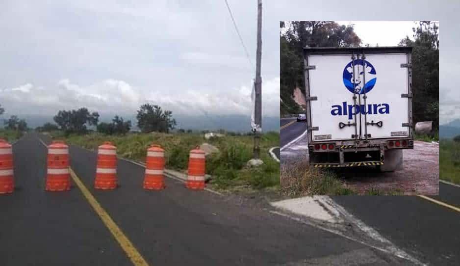 Asaltan a trabajadores de Alpura: los dejan aventados en la carretera