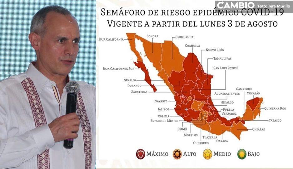 Confirmado: Puebla se queda en semáforo rojo otra quincena (VIDEO)