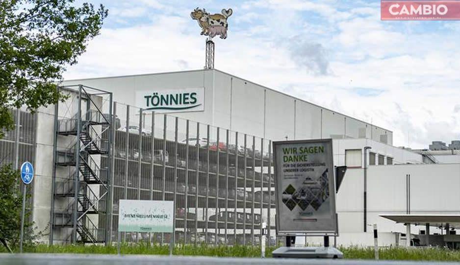 Alemania sufre nuevo brote de Covid con 657 casos en empacadora de carne