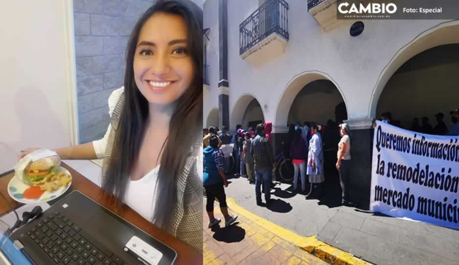 Huejotzingo arde en violencia mientras Angélica Alvarado pierde tiempo en redes sociales