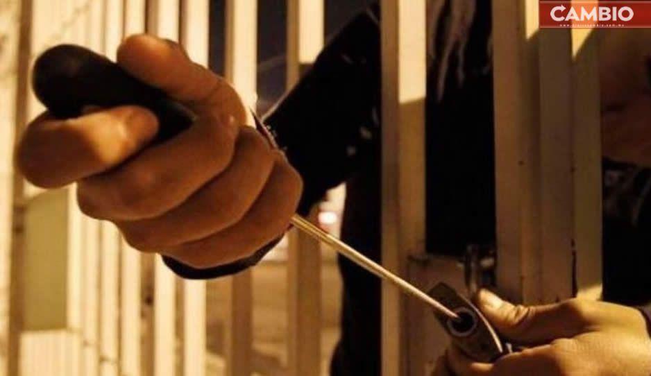 Caen 3 ladrones de casa habitación en Atlixco
