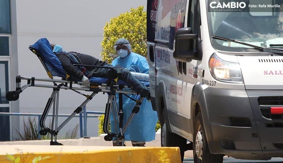 Coronavirus en Puebla cierra julio con 2 mil 600 muertes y 21 mil 229 contagios