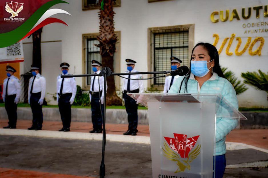 Ayuntamiento de Cuautlancingo conmemora el Día Nacional de Protección Civil