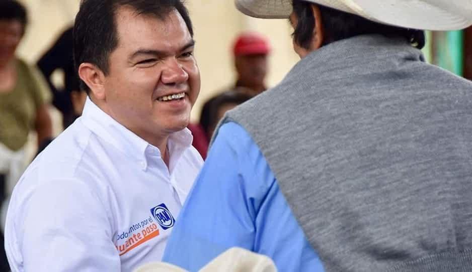 Ex candidato panista por Tlatlauquitepec, Felipe Prado, integrante de Estructura Maya