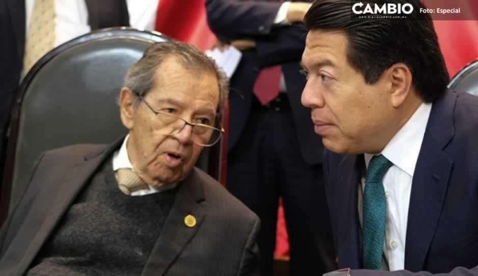 Muñoz Ledo y Mario Delgado deben bajar propaganda de Internet: ordenaINE