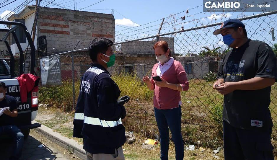 Continúa Ayuntamiento de Cuautlancingo con la entrega de alarmas vecinales
