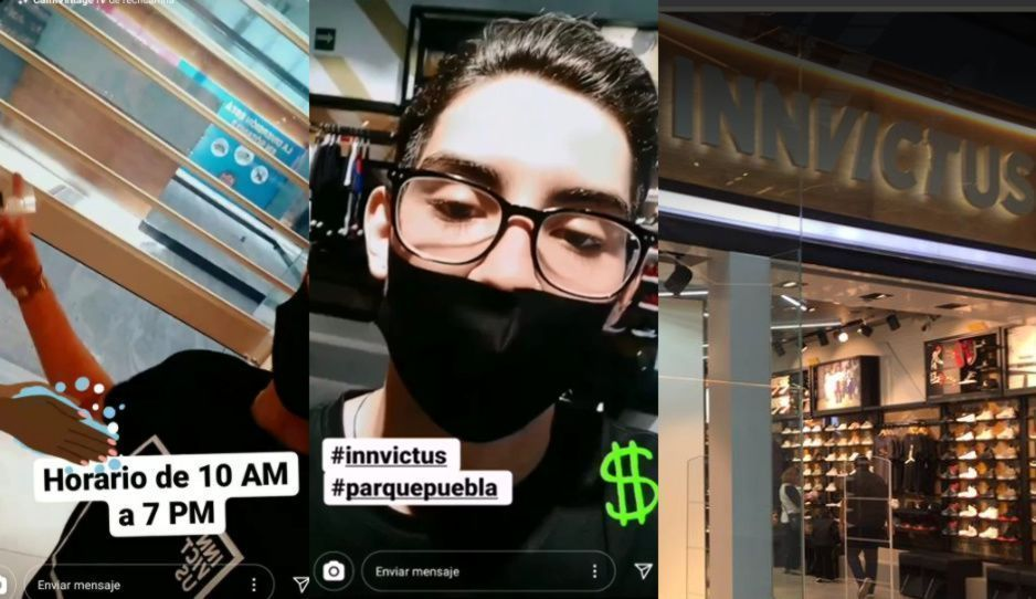 Invictus reabre sus puertas en Parque Puebla: dueño invita a sus clientes a la tienda (VIDEO)