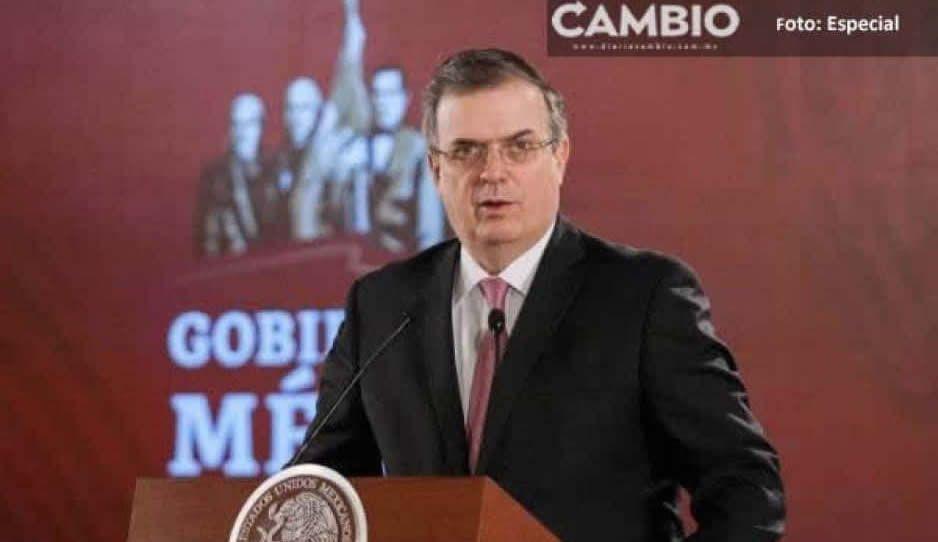 En México no existe la impunidad, dice Ebrad sobre liberación de Cienfuegos