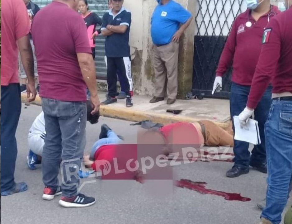 Muere pareja de motociclistas al derrapar en Chachapa