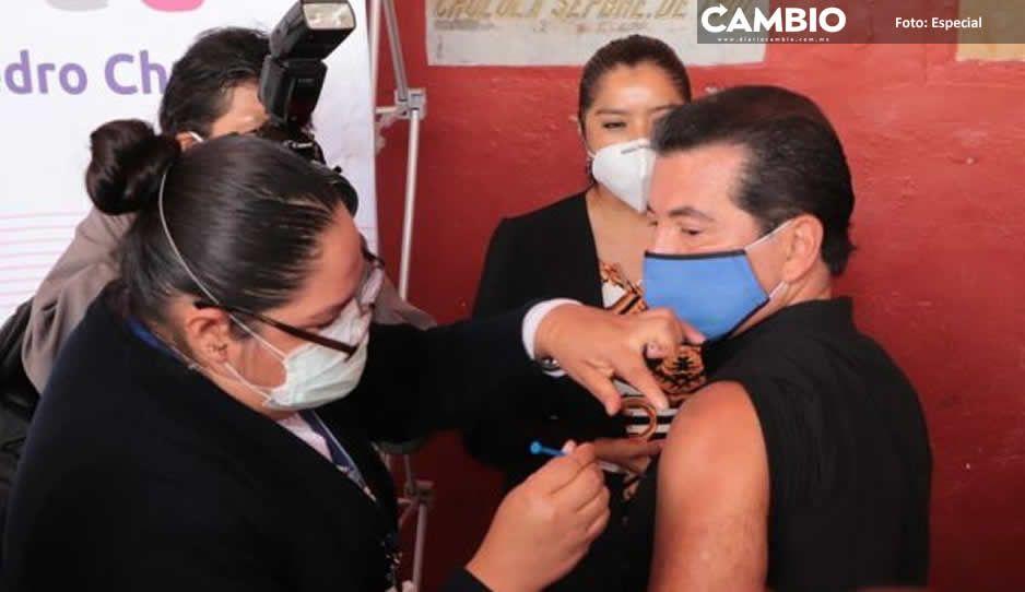 Arranca San Pedro Cholula  con Jornada de Vacunación