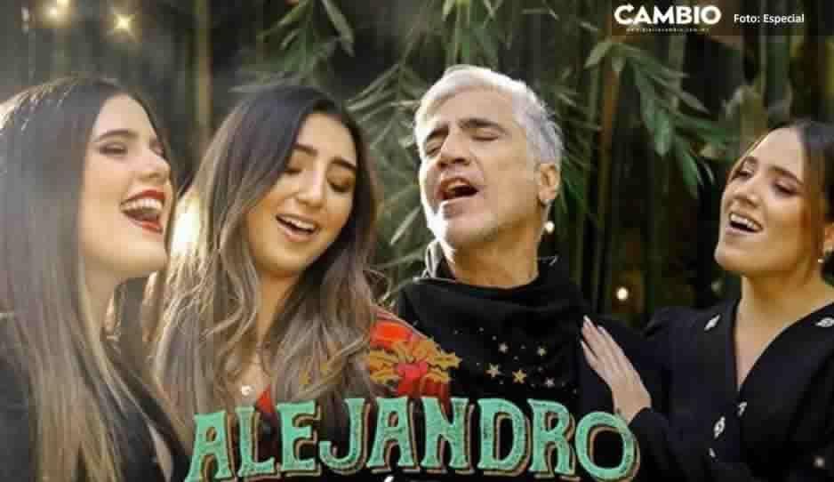 ¡Ya huele a ponche! Alejandro Fernández lanza Blanca Navidad con sus hijas