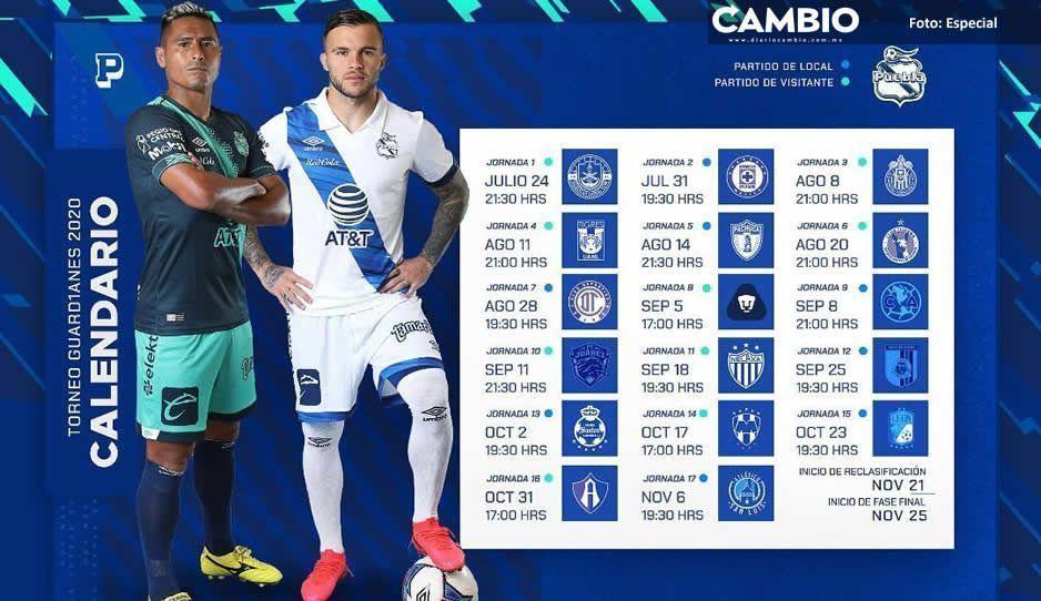 Inicia el torneo Guard1anes para  Puebla, ¡este es el calendario!