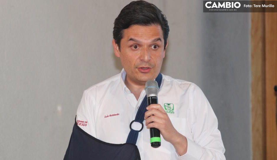 Zoé Robledo no descarta reconvertir más hospitales en Puebla ante saturación de infectados