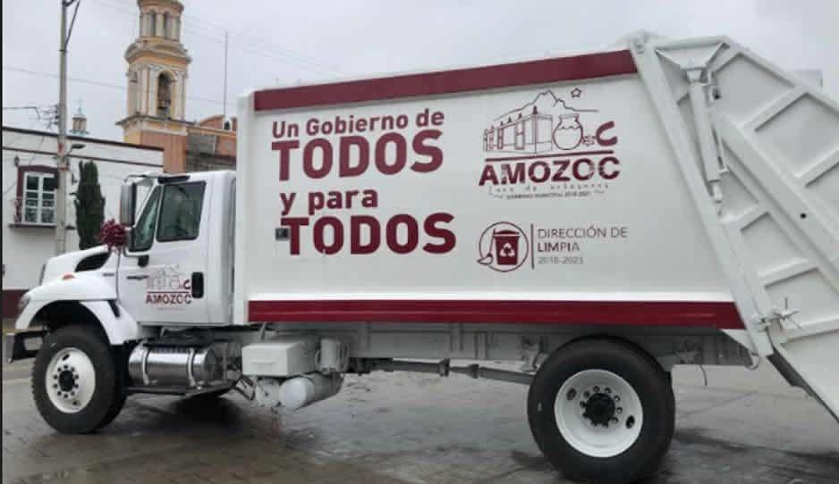 Sin parar, Ayuntamiento de Amozoc trabaja por un municipio más limpio