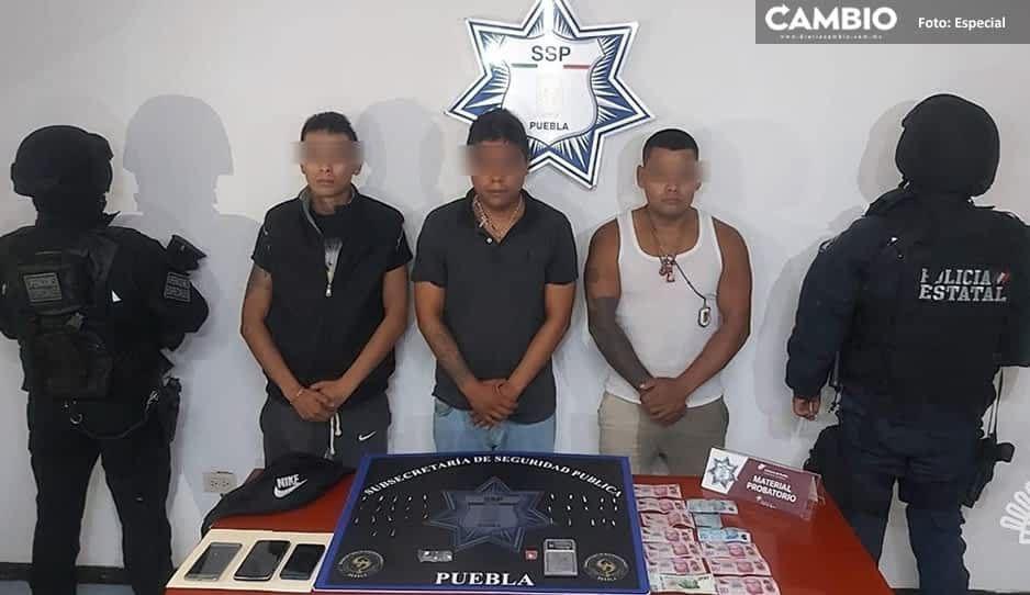 """Detienen a tres narcomenudistas y asaltantes de la banda de """"El Furcio"""" en San Ramón"""