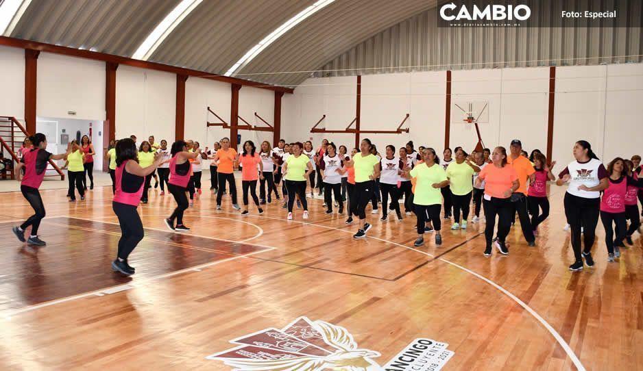 Ayuntamiento de Cuautlancingo promueve  la activación física para combatir obesidad