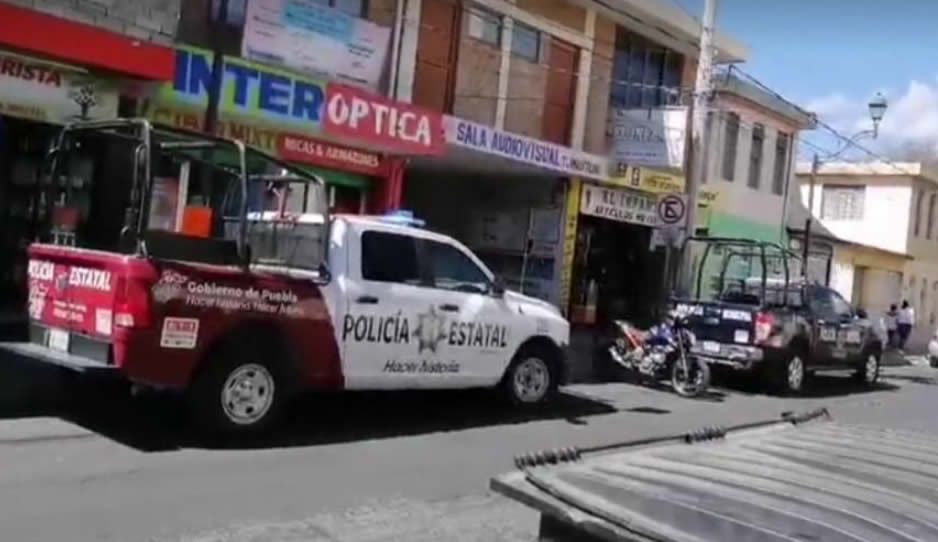 Encuentran cadáver en taller mecánico en pleno Centro de Tehuacán