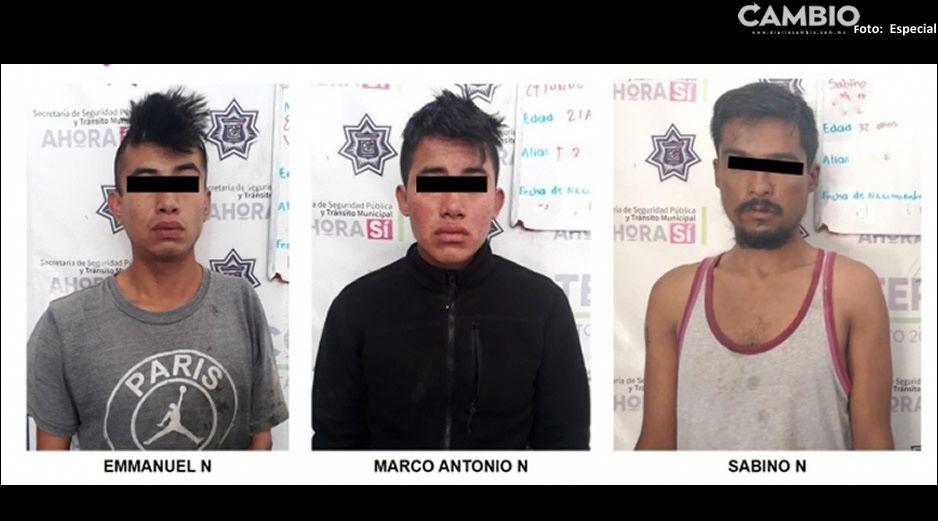 ¡Caen ratas! andaban delinquiendo en Xicotepec