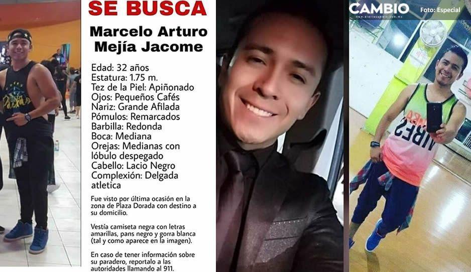 Ayúdanos a encontrar a Marcelo Arturo Mejía Jacome, se le vio la última vez por Plaza Dorada