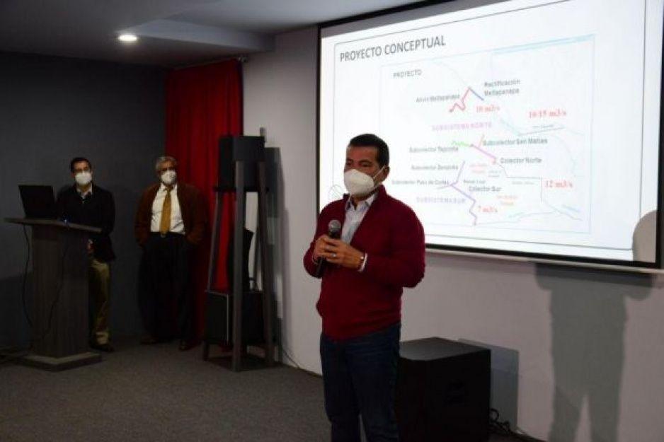Presenta gobierno de San Pedro Cholula Proyecto Ejecutivo para el Sistema Integral Pluvial