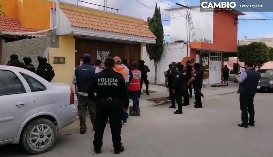 Los cachan con chelita en mano; catea bar clandestino en Tehuacán y detienen a seis clientes