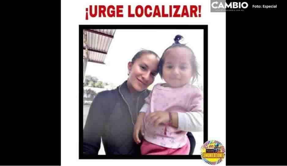 Desaparece madre e hijita en Tlacotepec de Benito Juárez ¡Ayuda a localizarlas!