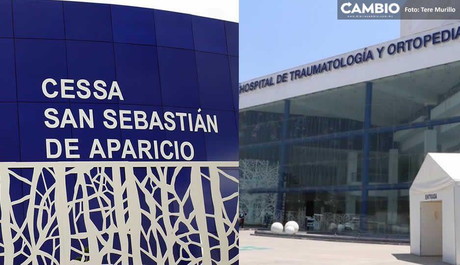 CESSA San Aparicio al borde del colapso en una semana; Traumatología está al 86%