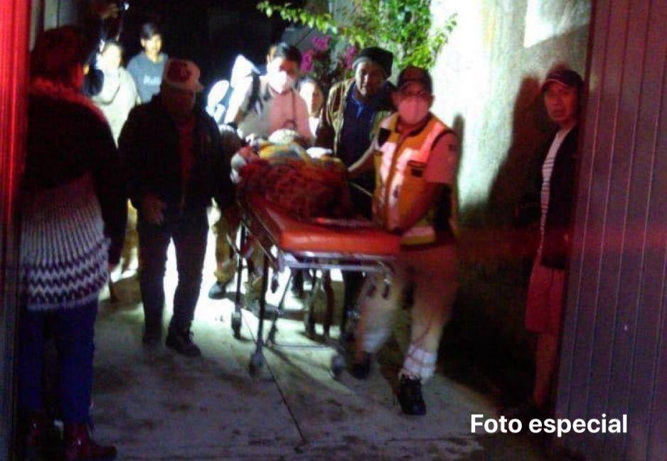 Explosión de tanque de gas deja tres lesionados en San Miguel Canoa