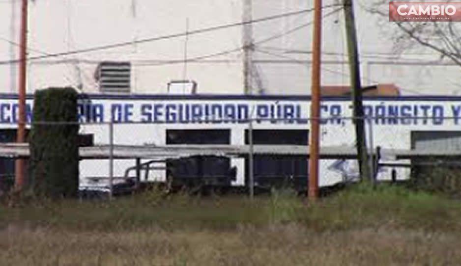 Tras persecución, policías logran detener a cuatro rateros en Texmelucan