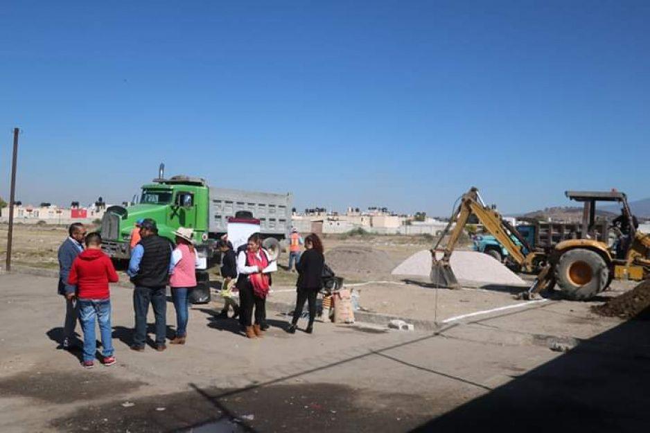 Ayuntamiento mejora mercado municipal de Amozoc