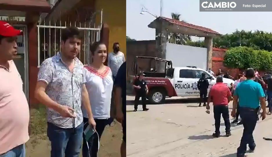 Van 4 cateos a propiedades de los hermanos Valencia en Venustiano Carranza