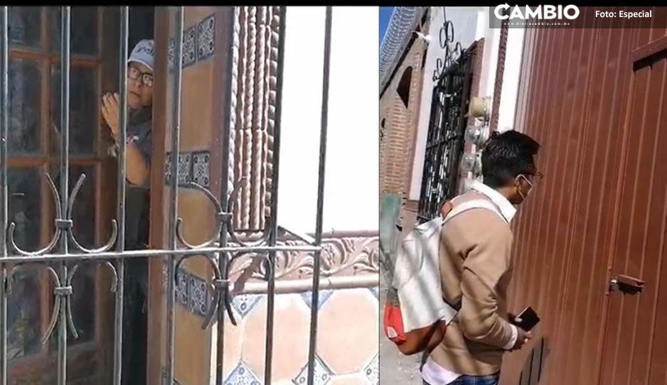 Eloísa Vivanco, la mamá de Claudia, da portazo a CAMBIO: me están acosando en mi domicilio y son mercenarios (VIDEO)