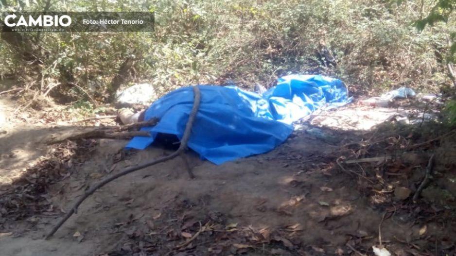 Localizan cuerpo ejecutado en Tlahuapan, limites con el Estado de México