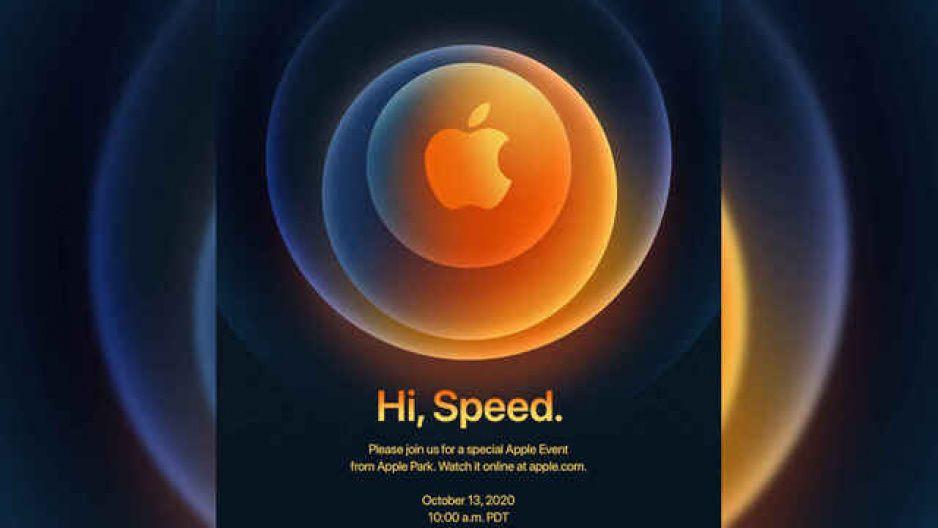 Oficial: presentación de iPhone 12 será el próximo 13 de octubre
