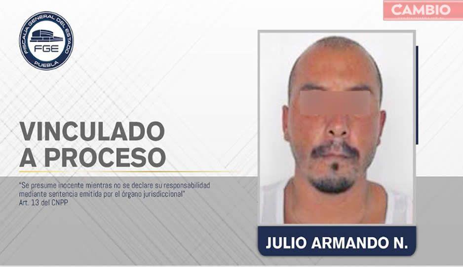 Vinculan a proceso a Julio Armando por desaparición de pareja sentimental en Atlixco