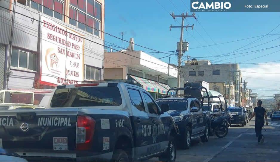 Extorsionan policías de Texmelucan a  familiares de detenidos con 25 mil pesos