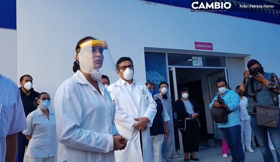 Sólo 63 pacientes de más de 200 superan COVID en Hospital General de Tehuacán