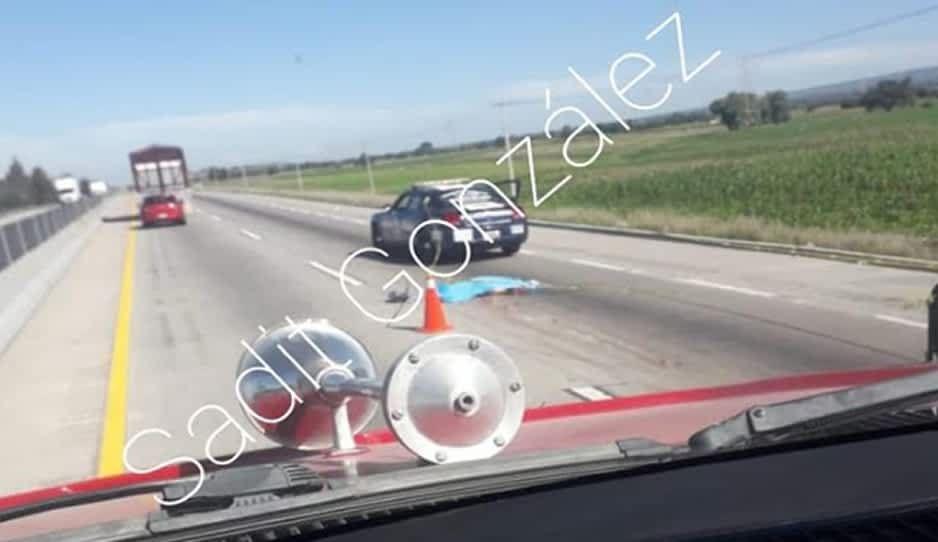 Atropellan y matan a un hombre sobre la autopista Puebla-Orizaba