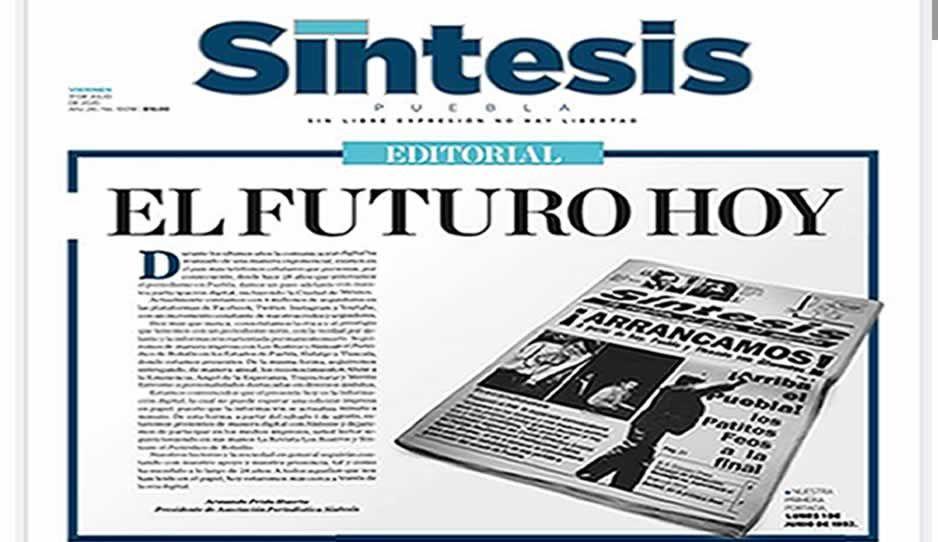 Terremoto en los medios poblanos: Síntesis cierra como periódico impreso