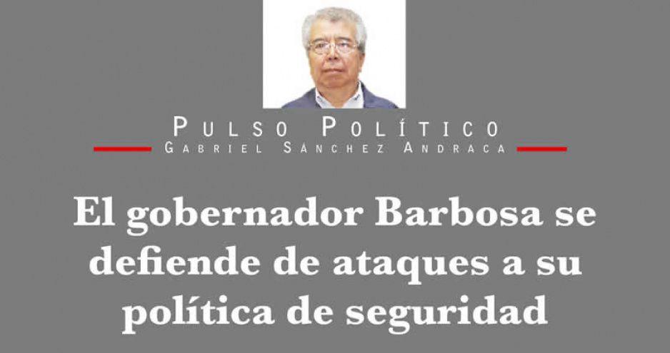 El gobernador Barbosa se defiende de ataques a su política de seguridad