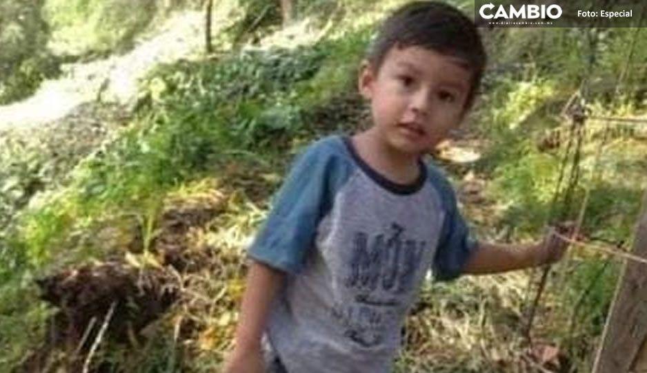 Desaparece Ricardito de 3 años en Atzitzihuacan ¡Ayuda a encontrarlo!